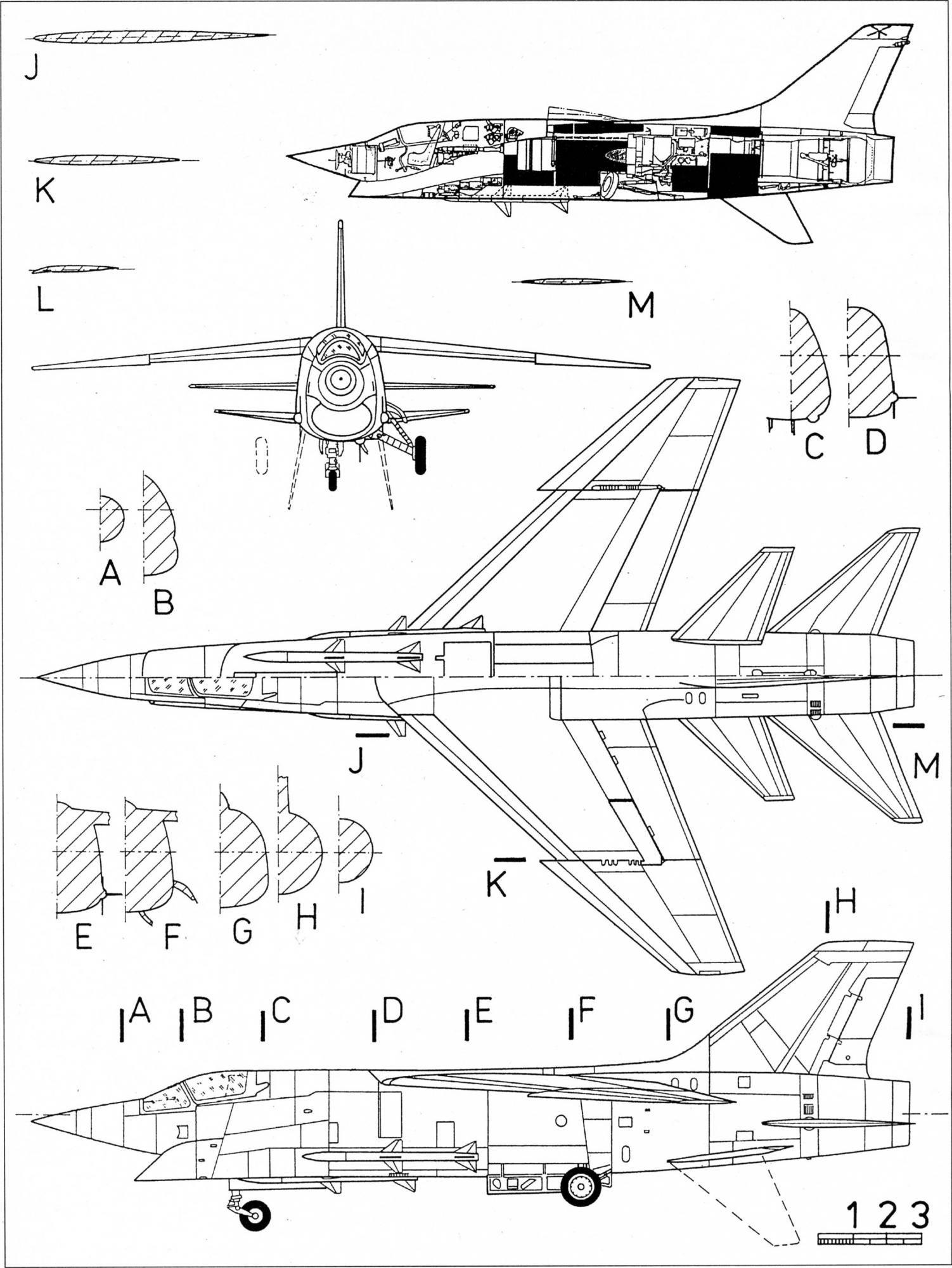 Vought xf8u 3 crusader iii 1958 lost petition to f 4 phantom