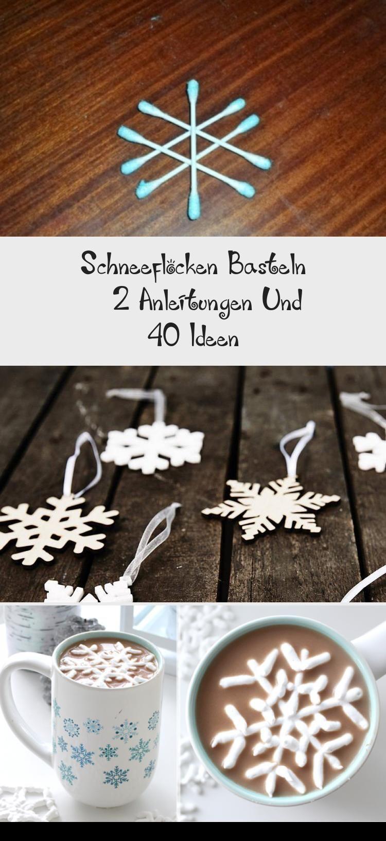 schneeflocken schneiden diy weihnachtsdeko schneeflocken
