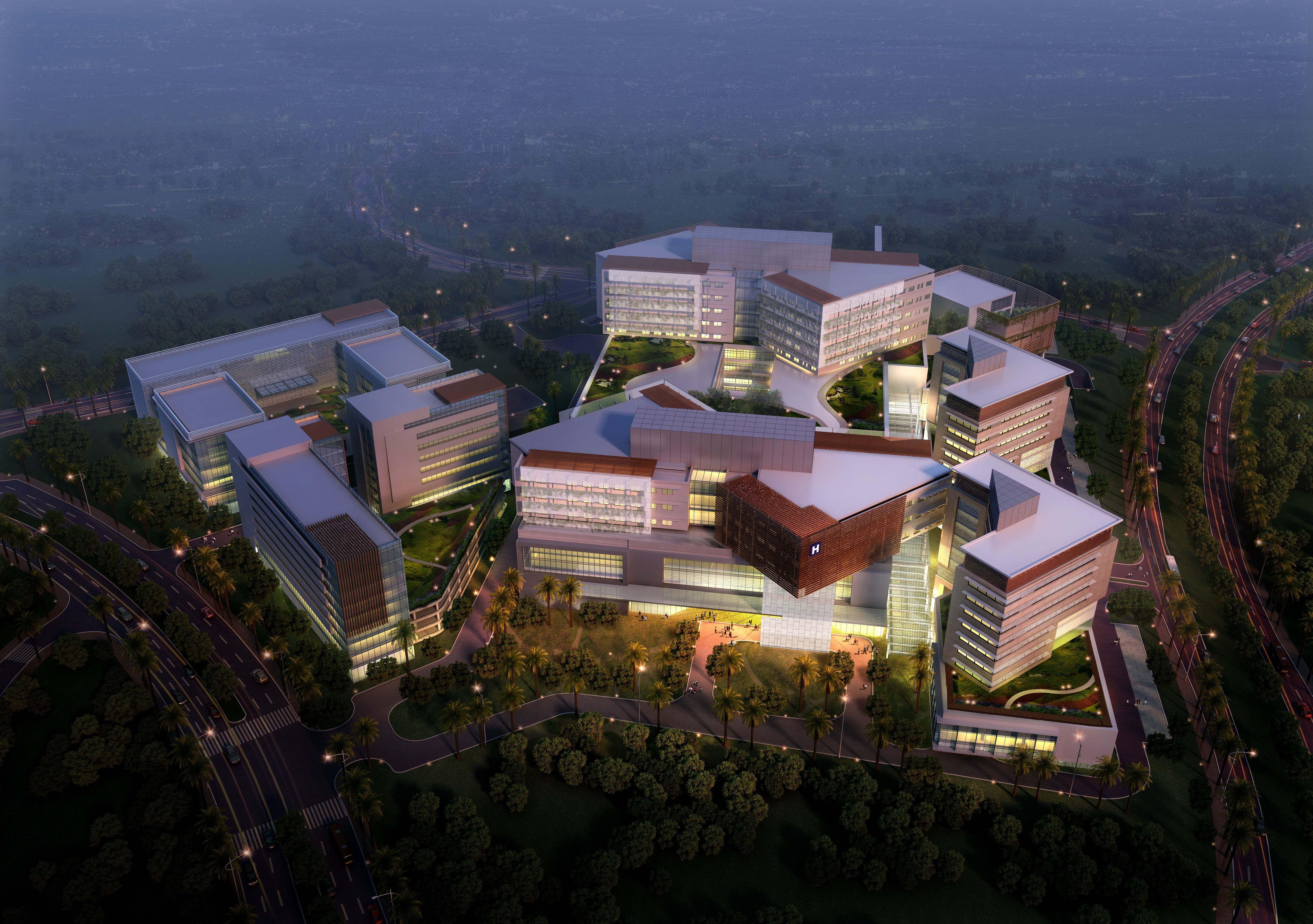 Gleneagles Medini Hospital. Singapore Medical tourism