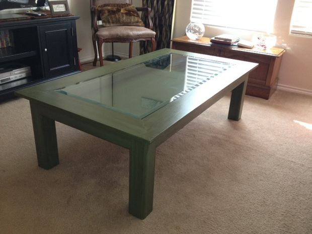 Gentil How To Build Glass Top Shadow Box Coffee Table