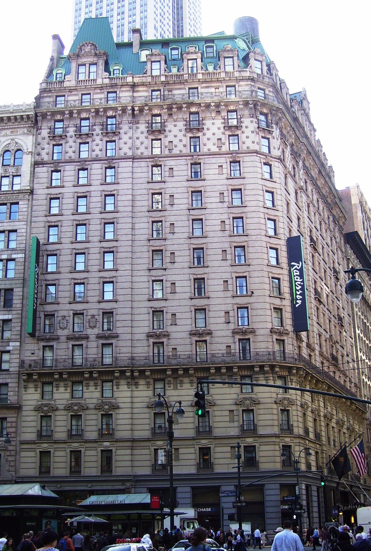 The Radisson Hotel At 53 West 32nd Street Also Known As 1260 1266