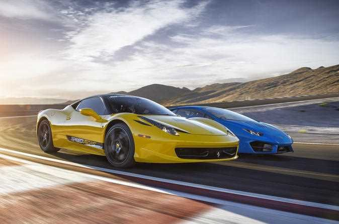 Las Vegas Exotic Car Driving Experience A Professional Coach Will