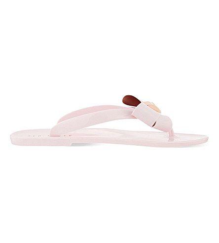 8485661f9 TED BAKER Ettiea Jelly Thong Flip-Flops.  tedbaker  shoes  sandals ...