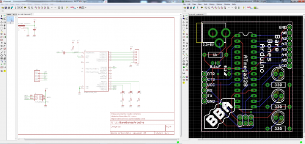 Schematic And Board Layout From Using Eagle Tutorials Schematic Design Circuit Diagram Diagram