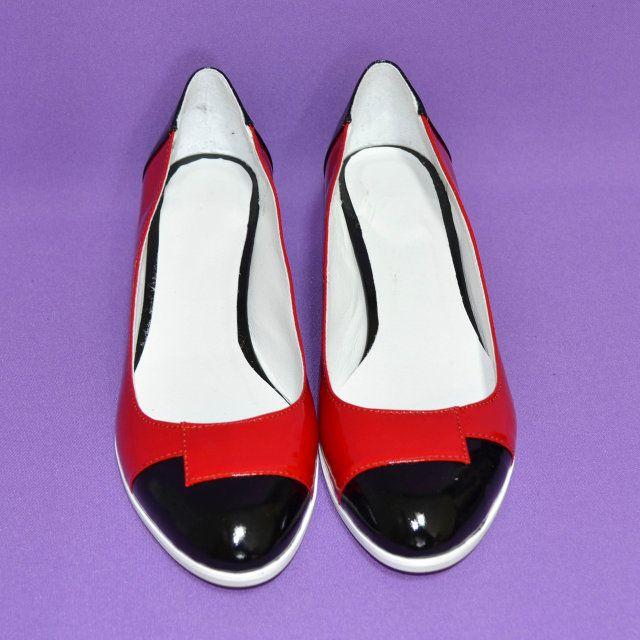 1475ef797814 Женские лаковые классические туфли на невысоком каблуке, черный ...