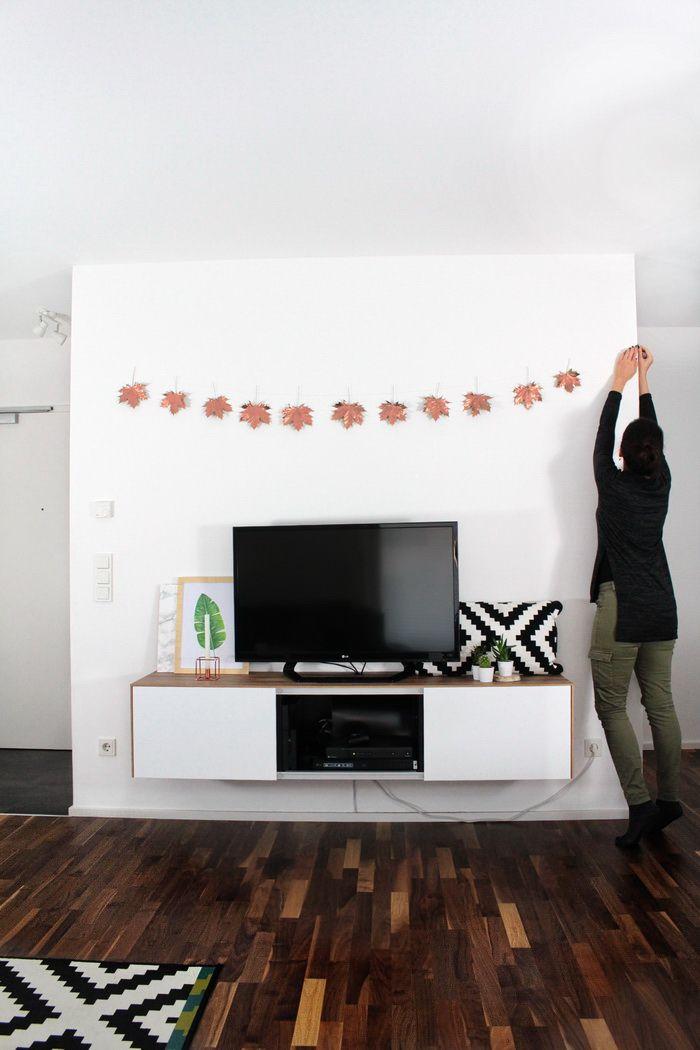 DIY Herbst Girlande