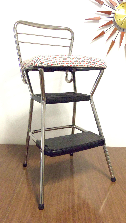 Cosco vintage step stooldesk stoolkitchen seating