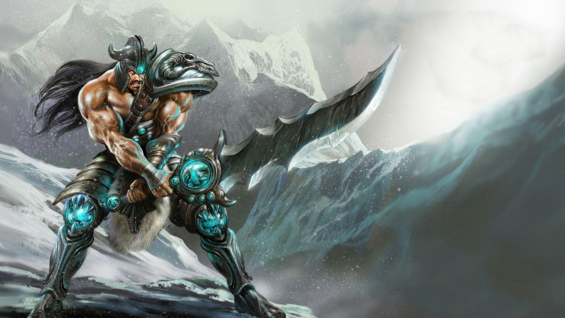 League Of Legends Tryndamere Game Wallpaper | Art | League