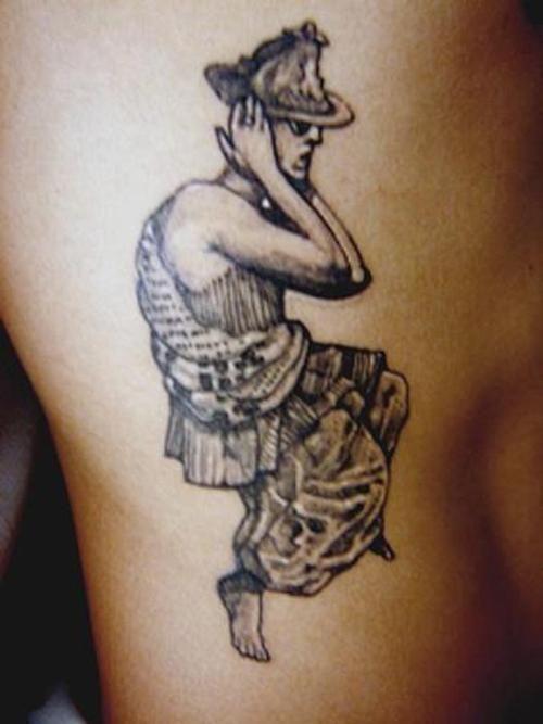 tatuajes indio baile