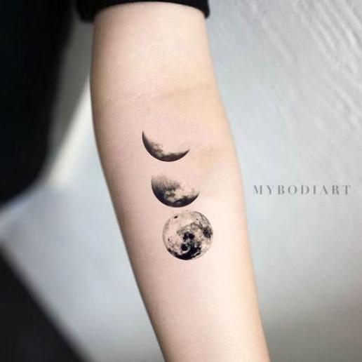 Photo of Ideas frescas del tatuaje del antebrazo de las fases de la luna para las mujeres – ideas frescas del tatuaje de la luna para …