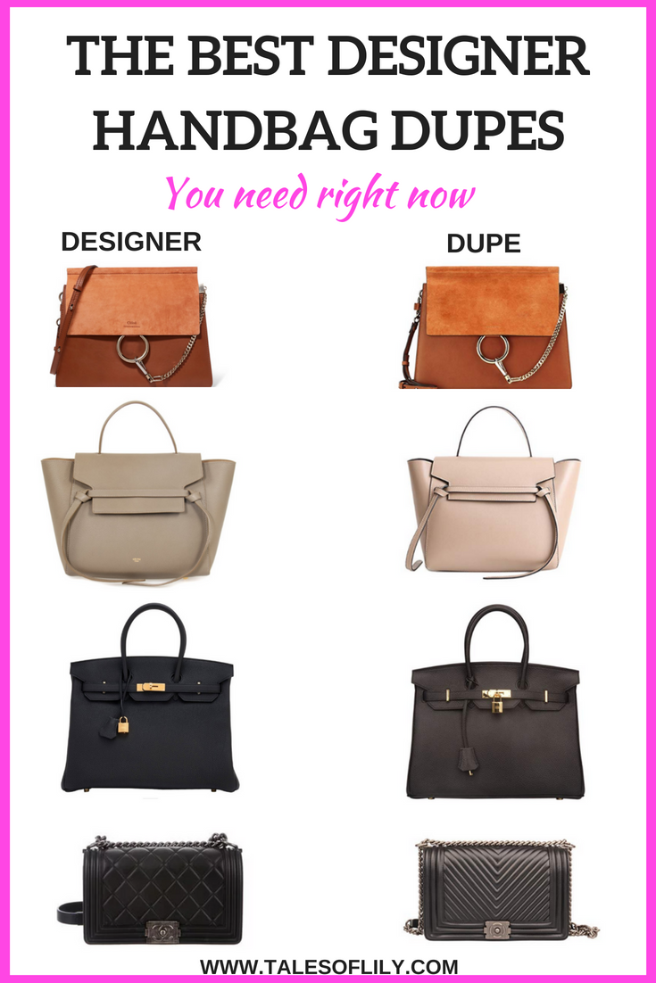 ade3fdb0ced5 The best designer handbag dupes! These are my favorite designer handbag  dupes you can find on Amazon. They are pretty good quality