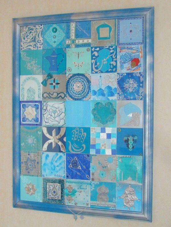 mosarabic project d coration orientale bleu algeria. Black Bedroom Furniture Sets. Home Design Ideas