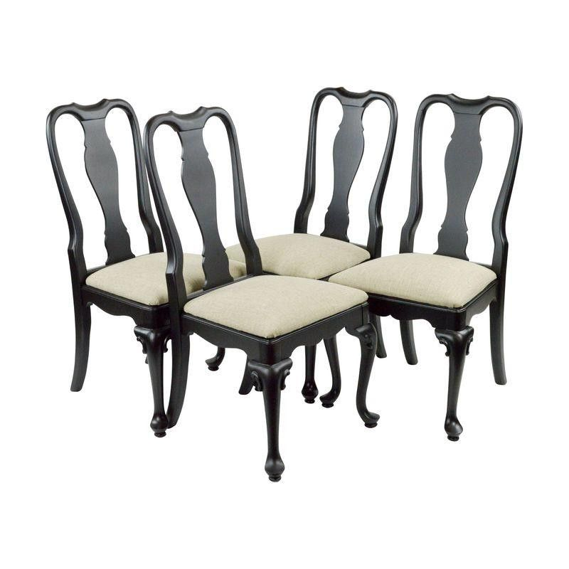 Queen Anne Dining Chairs   Set Of 4   $1,050 On Chairish.com