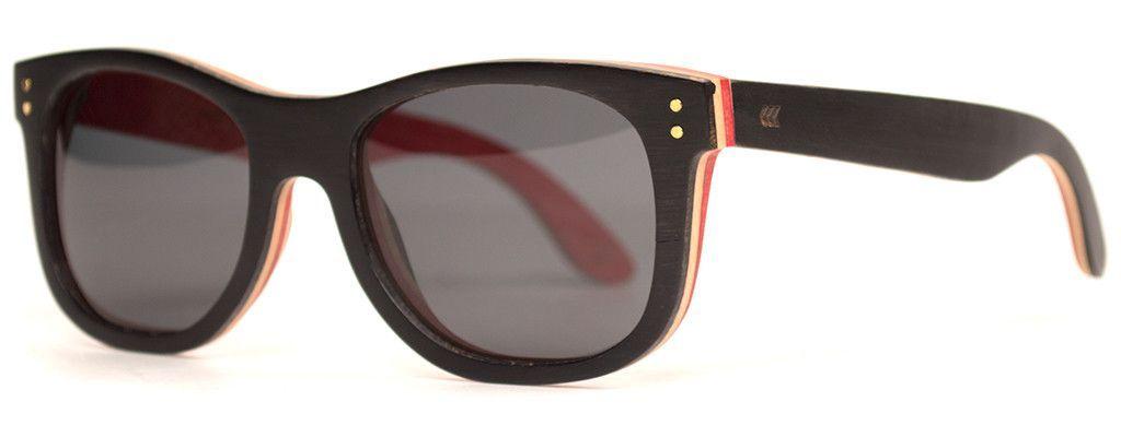 56d7fe18738 Skateboard wooden sunglasses with polarized lenses make sure your  skateboard and eyeballs never die. Wooden Skateboard Sunglasses have mad  pop and never go ...