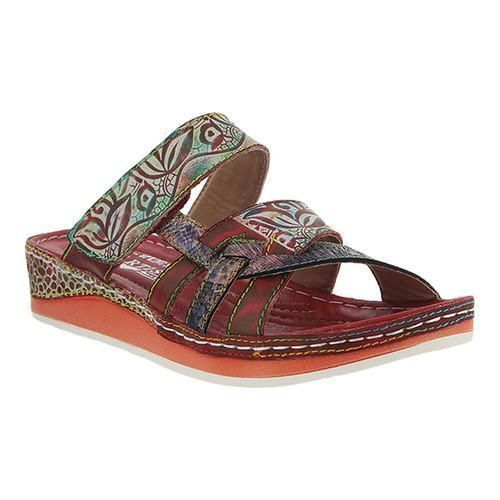 Women's L'Artiste by Spring Step Caiman Slide Multi