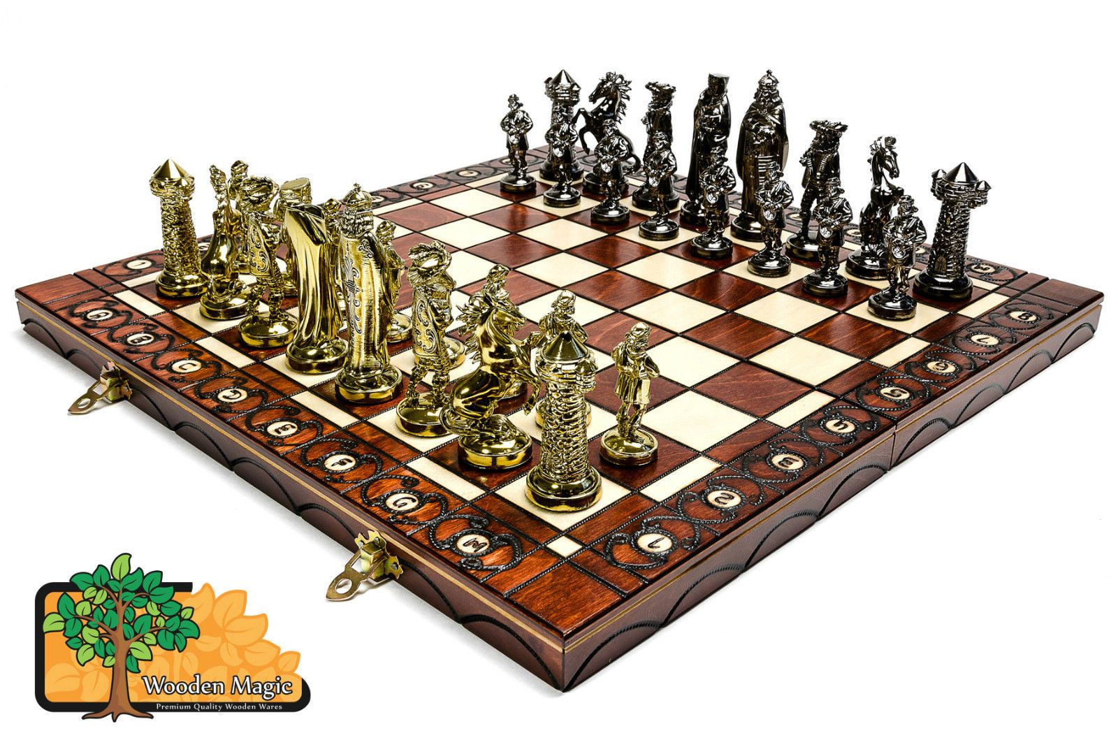 Medieval gold large 40cm 157in artistic chrome