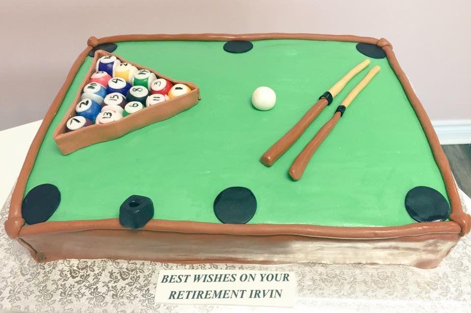 Pool table custom cake dvascakes custom cakes pinterest custom cakes cupcakes shop cambridge kitchener waterloo workwithnaturefo