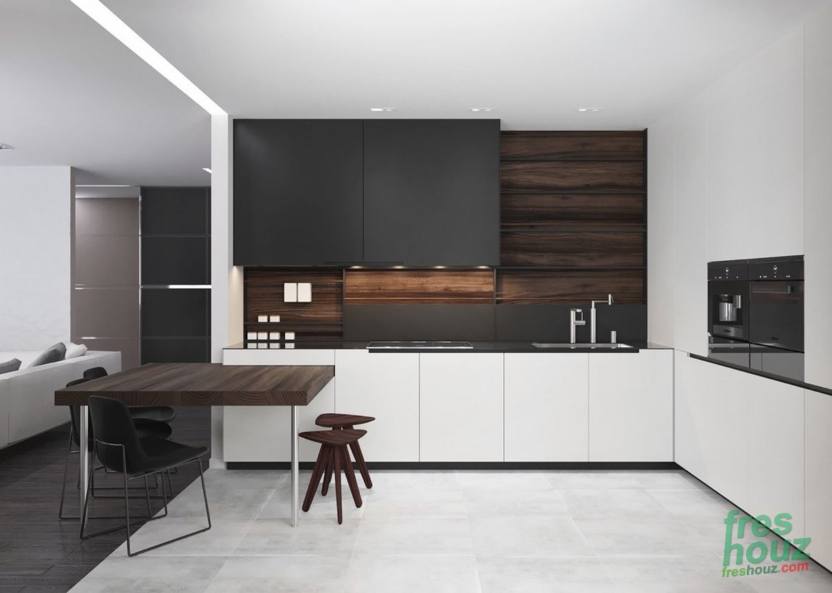 41 Inspiring Black And White Kitchen Design