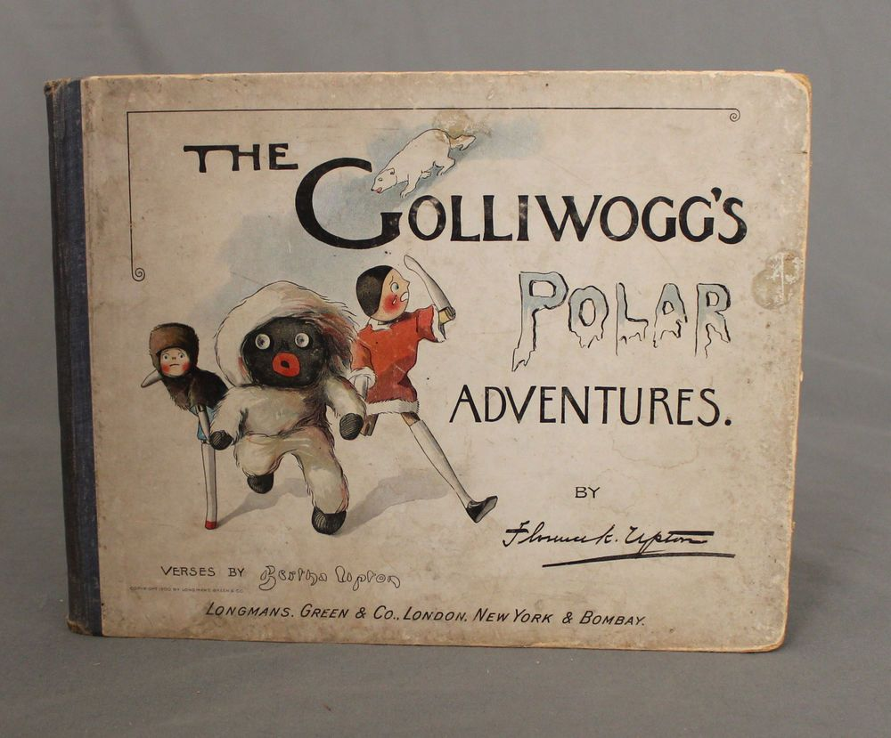 Antique The Golliwoggs Polar Adventure By Florence K Upton