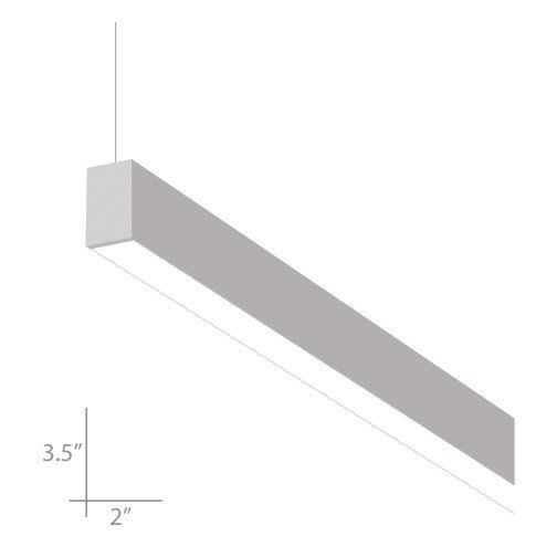Alcon Lighting Beam 23 Series 12104 4 2 Aperture 4 Foot Linear Led Pendant Light Fixture Pendant Light Fixtures Led Light Fixtures Indirect Lighting