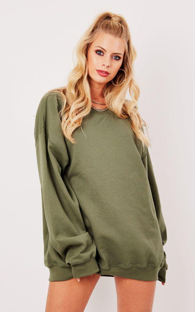 Ultimate Boyfriend Sweater Khaki | Boyfriends, Khakis and Cream ...