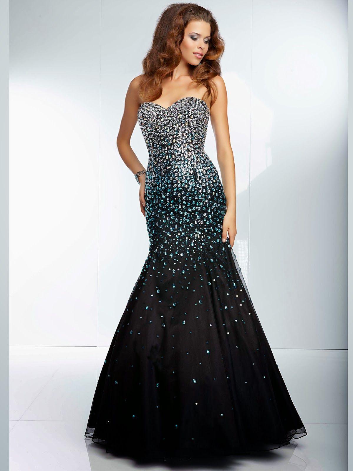 a655dbfc16 Estupendos vestidos de 15 años estilo sirena