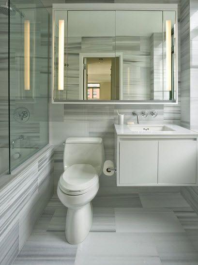 Diseños de baños, ideas y estilos del pequeño cuarto de aseo ...