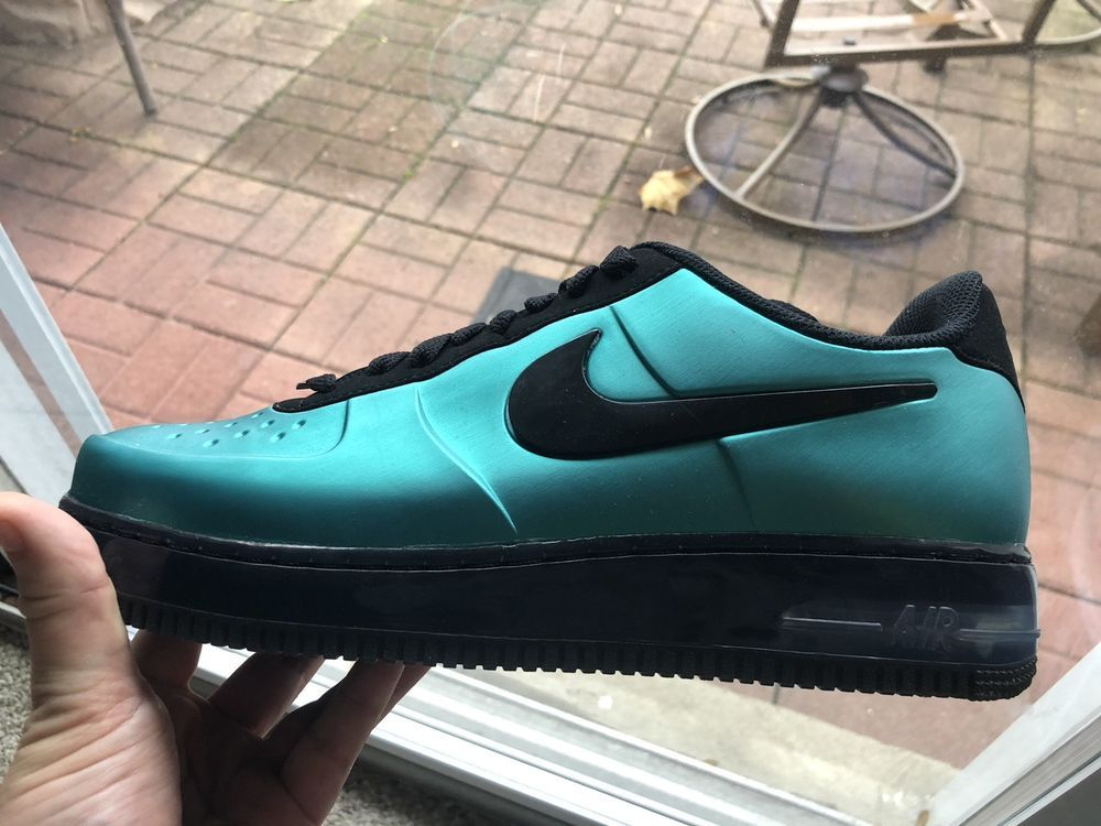 0217a5ad425 Nike Air Force 1 Pro Foamposite Low Green Black 532461 300. Deadstock   fashion  clothing  shoes  accessories  mensshoes  athleticshoes (ebay link)