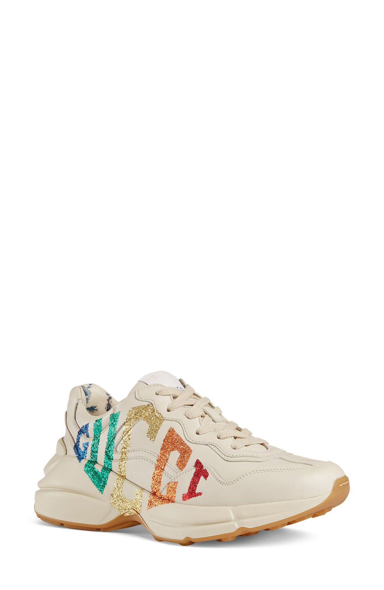 c2d324c9dd6 Gucci Rhyton Rainbow Logo Sneaker available at  Nordstrom