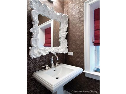 Contemporary Bathroom With Whimsical Design Elements  3637 Delectable Bathroom Designer Chicago Review