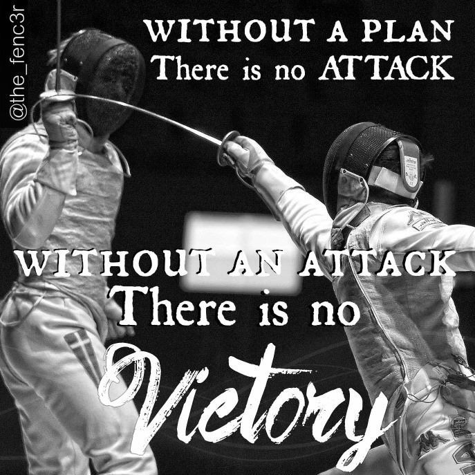 Fencing Quotes Cool Always Have A Plan  Fencing  Pinterest  Fences And Fencing Sport