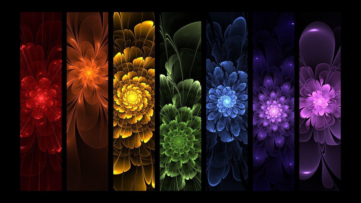 Root, Sacral, Solar Plexus Chakra, Heart, Throat, Third Eye and Crown Chakras