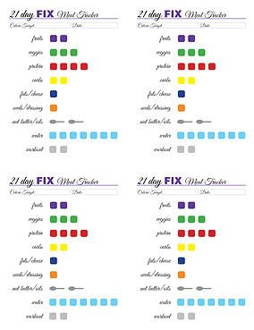 day fix free tracking printable also portion control chart to calories google rh pinterest