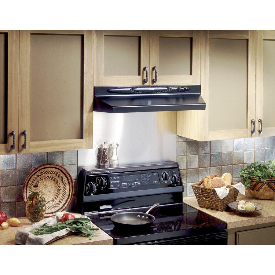 Shop Broan 24in x 30in Stainless Steel Metal Kitchen
