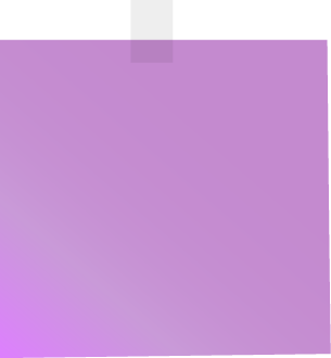 Purple Sticky Note Clip Art  Clip ArtMisc    Clip