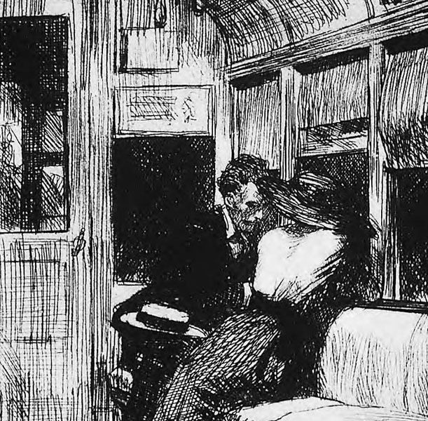 Edward Hopper is the man Printmaking