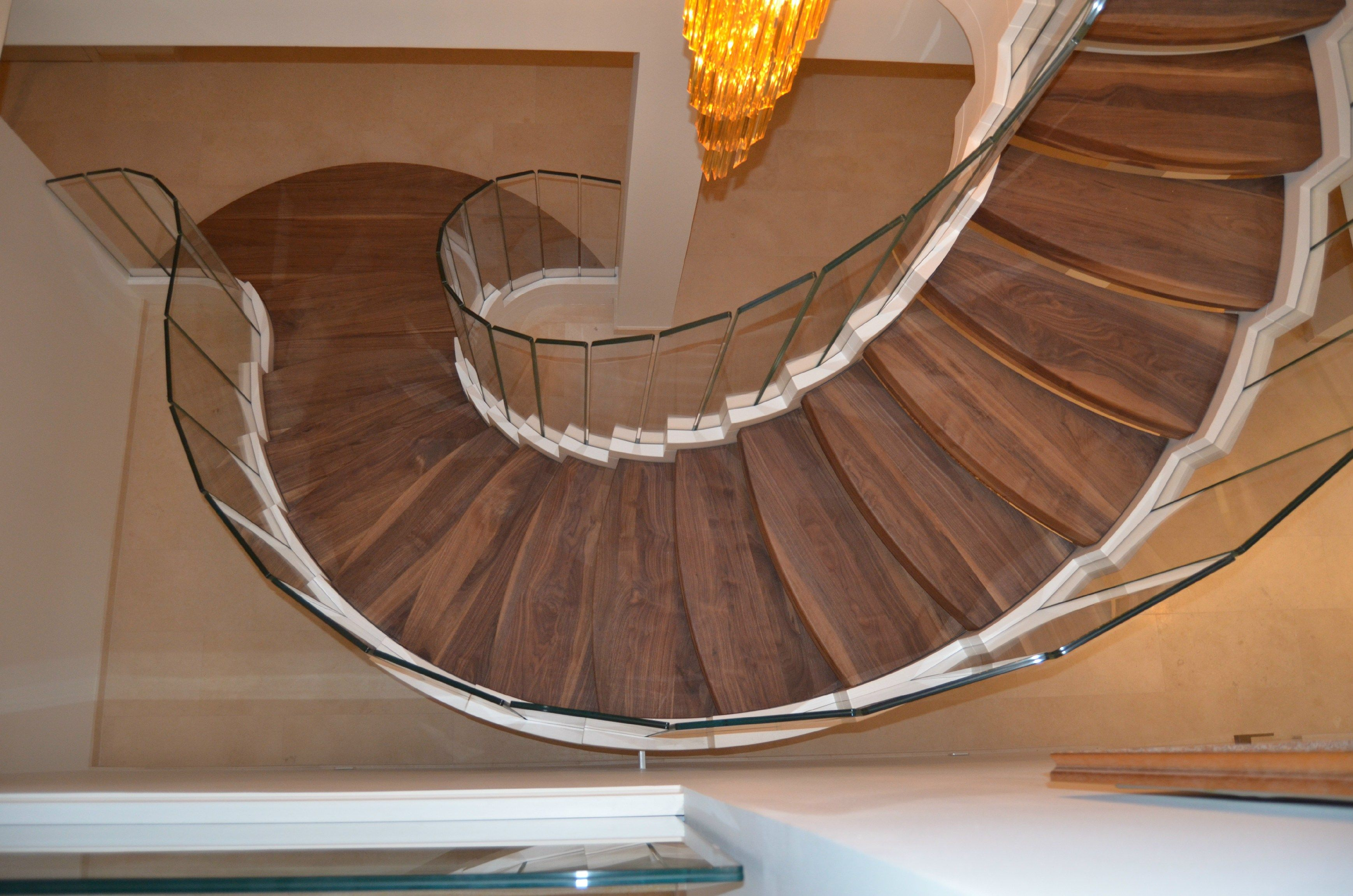 Best Cobra Wood And Corian Helical Spiral Staircase By Siller Treppen Design Siller Stairs 400 x 300