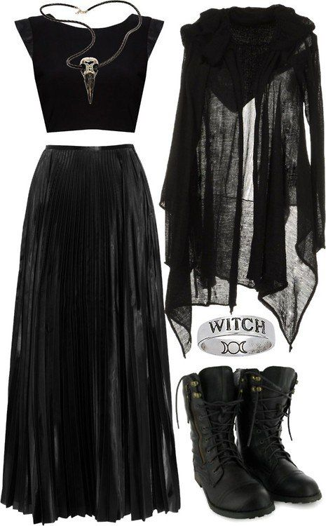 Pin By Melissa Vail On Style Gothic Fashion Fashion Witch Fashion