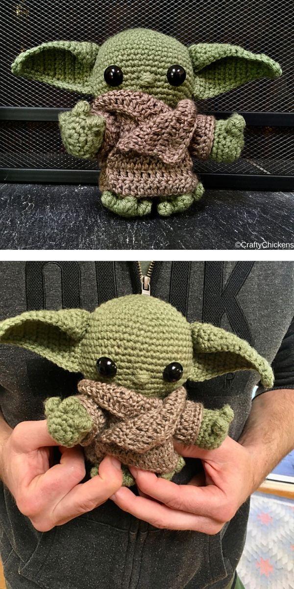 Baby Yoda Amigurumi Free Crochet Pattern