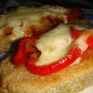 Milanesa de berenjena light