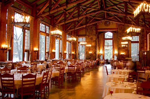 Bon The Ahwahnee Lodge Dining Room...Itu0027s Awesome To Eat Here While Snow Falls  Outside.