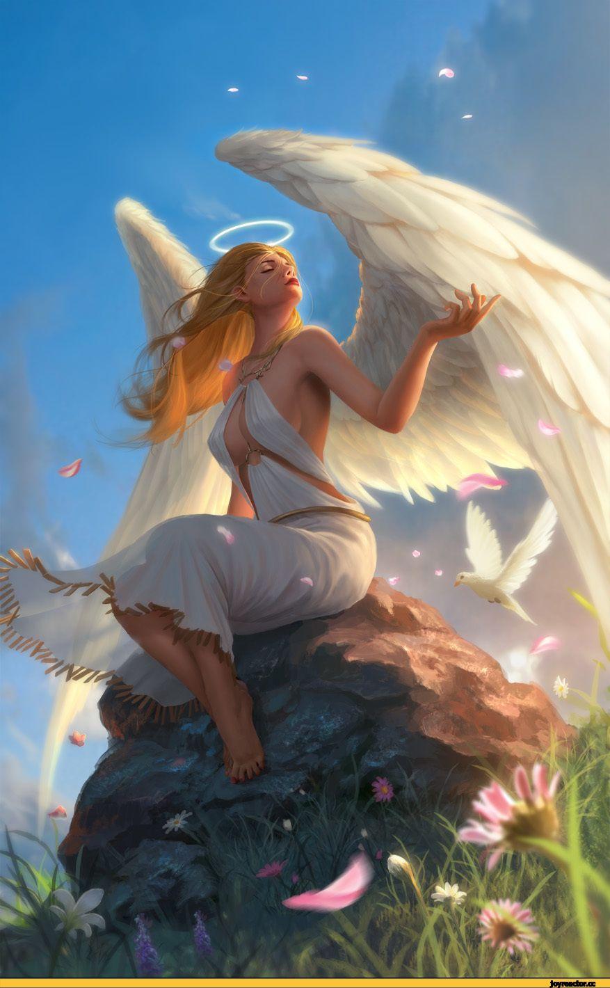 Картинки ангелов арт красивые