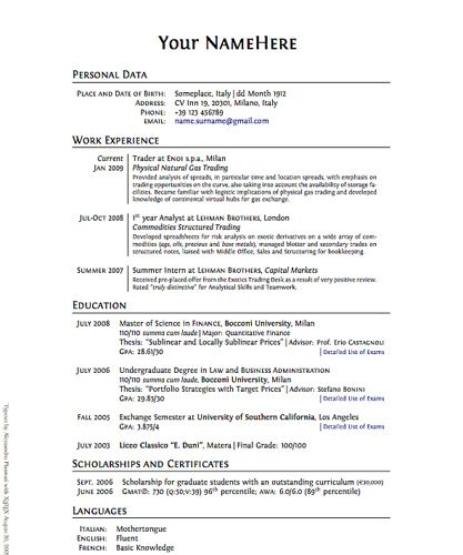 34 Resume tips . They suggest an electronic resume for the web - putting  that