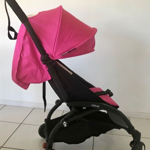 Babyzen Yoyo Travel Pram Stroller - Pink | Babyzen yoyo ...