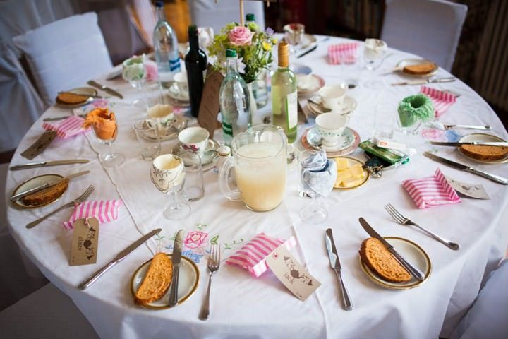 Louisa And Adam S Afternoon Tea Party Wedding By Steve Fuller