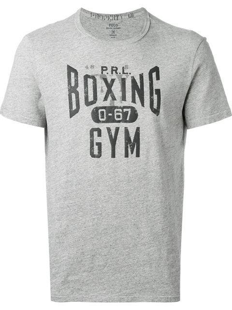fd443ac6 POLO RALPH LAUREN 'Boxing Gym' T-Shirt. #poloralphlauren #cloth #t-shirt