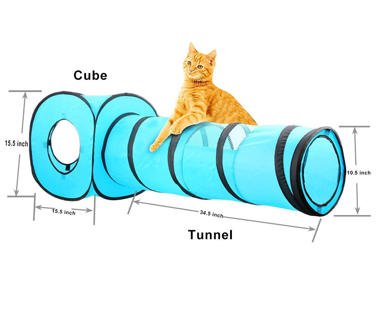 Cat Toys Best Pawise Cat Toys Cat Tunnel Pop Up Collapsible Cat Cube Kitten Indoor Outdoor Toys With Kitten Collar Read More Cat Cube Cat Tunnel Cat Toys