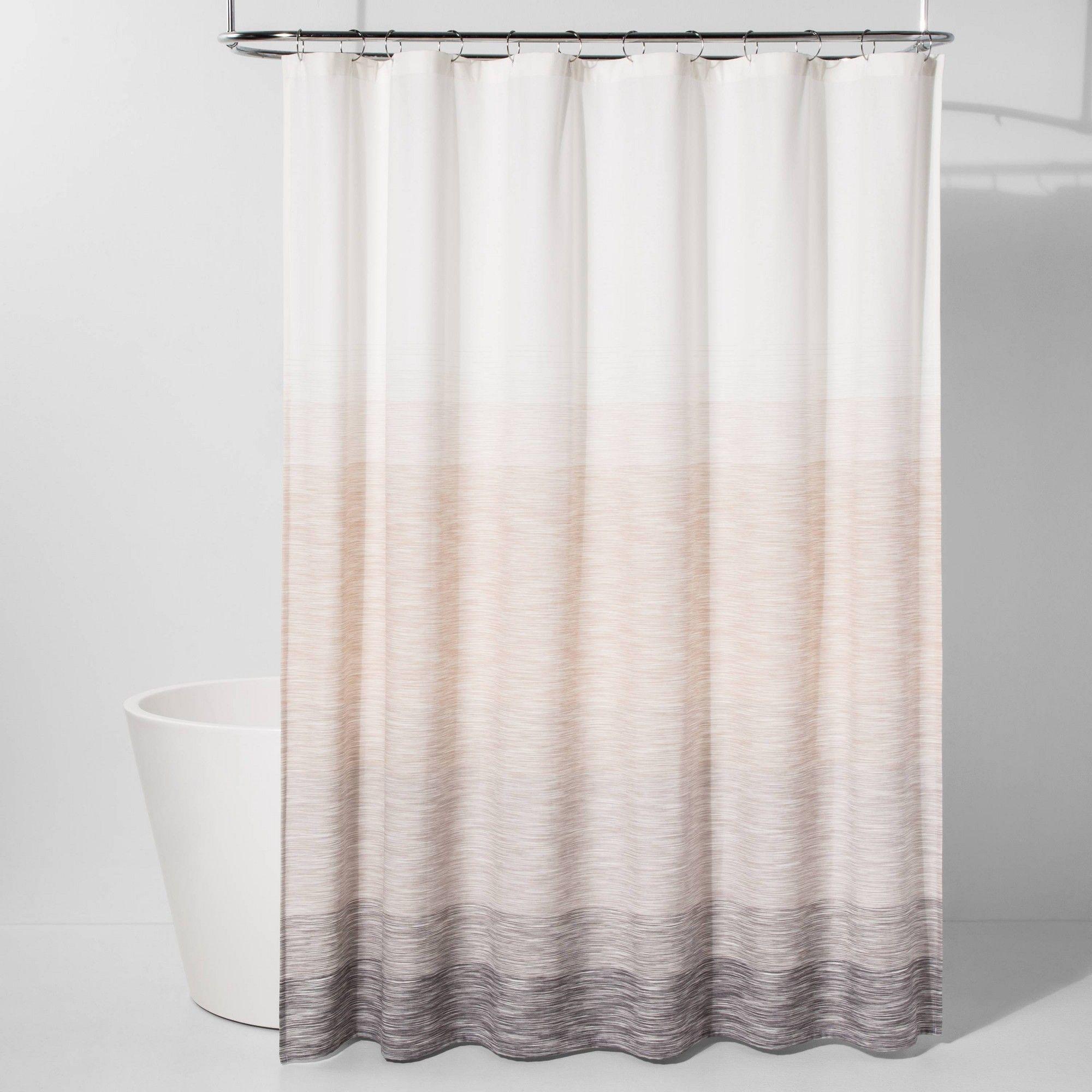 Spacedye Shower Curtain Neutral Ombre Project 62 Beige