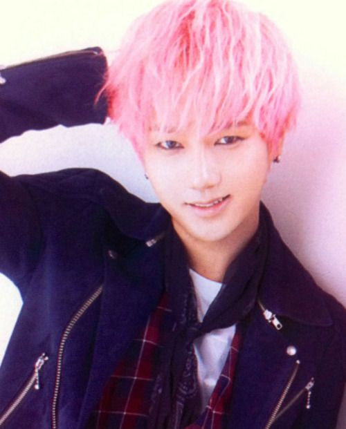 Kpop Hairstyles Male Idols With Pink Hair Yesung Super Junior Yesung Super Junior