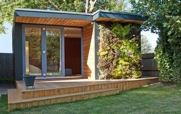 Garden Room In Kent Modern Garage And Shed London By Eden Garden Rooms Hinterhof Buro Hinterhof Studio Gartenstudio
